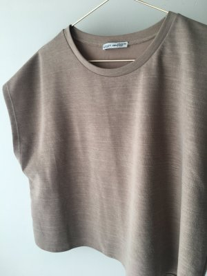 Zara Crop Top beige