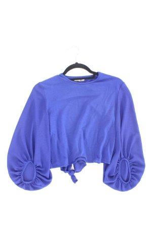 Zara Crop Top blau Größe S