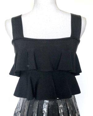 Zara Crop-top noir