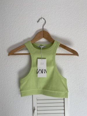 Zara Crop top grün S