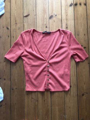Zara Cropped Shirt multicolored