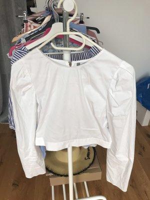 Zara Cropped Bluse