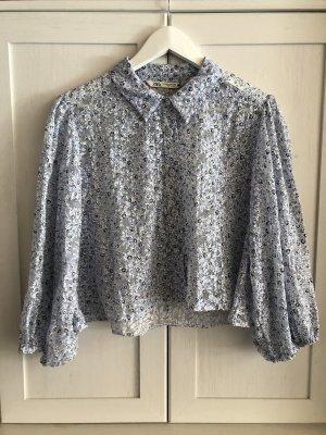 Zara Cropped Bluse Floral Plussize XXL 44 NEU