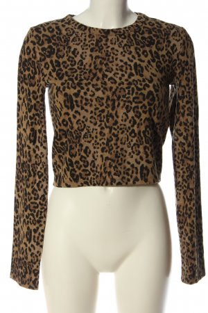 Zara Cropped Pullover Leomuster Casual-Look