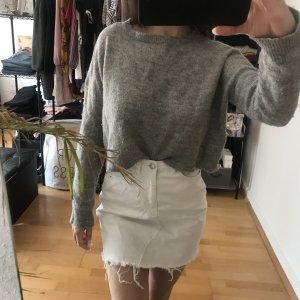 Zara Knit Long Blouse grey