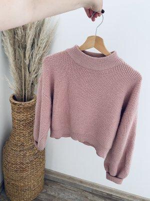 Zara cropped Pullover Größe S altrosa *neuwertig*