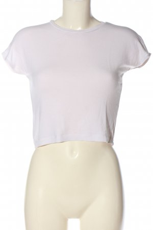 Zara Cropped Shirt white casual look