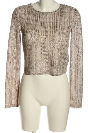 Zara Cropped shirt volledige print casual uitstraling