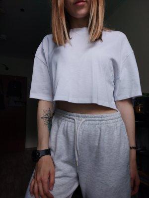 Zara cropped Shirt in Gr. S