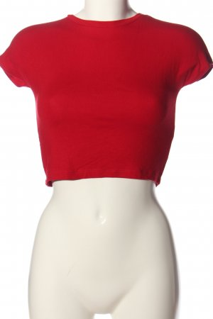 Zara Cropped Top rot Casual-Look