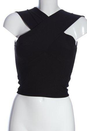Zara Cropped Top black casual look