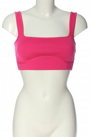 Zara Cropped Top pink Casual-Look