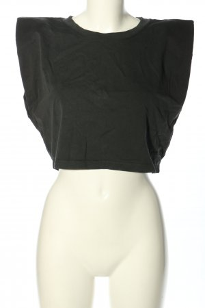 Zara Cropped Top khaki casual look