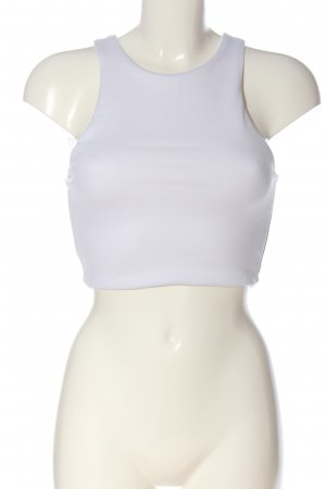 Zara Cropped top wit casual uitstraling