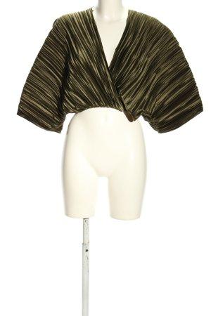Zara Cropped Top khaki Elegant