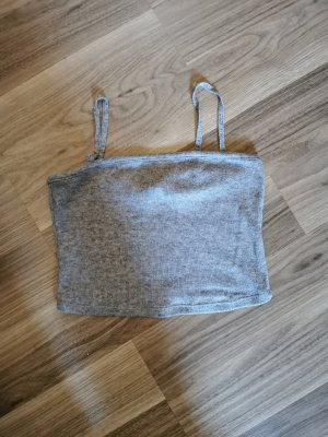Zara cropped Top grau, neu