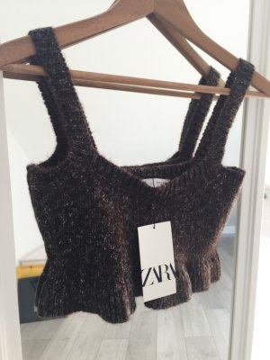Zara cropped top S