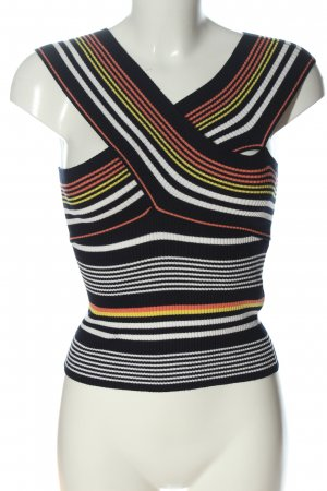 Zara Cropped Top Streifenmuster Casual-Look