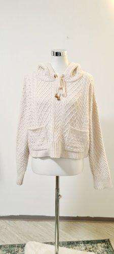 Zara/ Cropped Wollpulli/ Größe L/Beige / Zustand: Gut