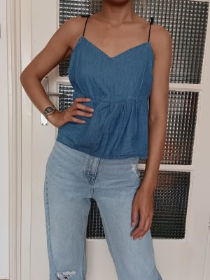 Zara Croptop [Jeansblau, Gr. M]