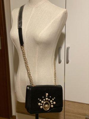 Zara crossbody bag with Interchangeable flap black