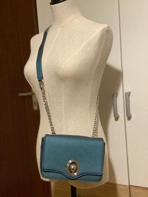 Zara Crossbody Bag with Interchangeable FLAP Petrol -Blue