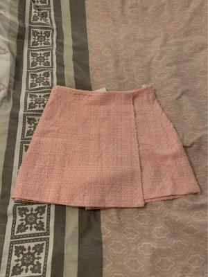 Zara Jupes-culottes blanc-rose clair