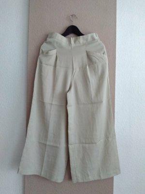 Zara Culotte in beige mit hohem Bund, 100% Lyocell, Grösse S, neu