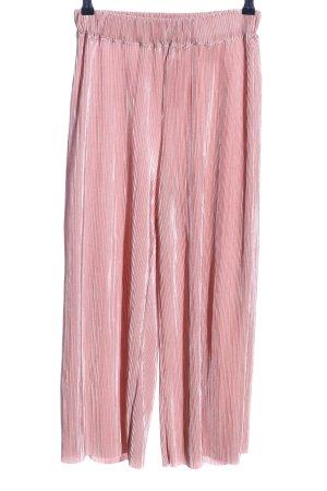 Zara Pantalone culotte rosa elegante