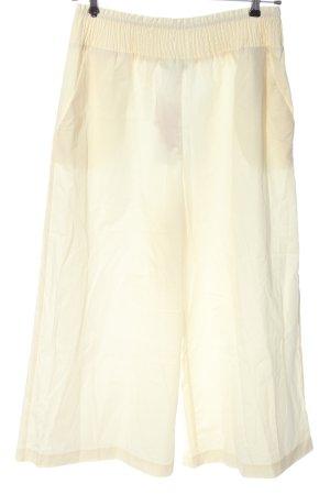 Zara Culottes wollweiß Casual-Look
