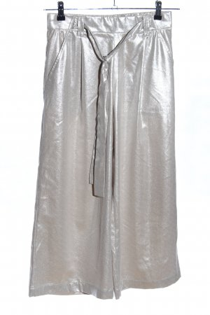 Zara Culottes silberfarben Casual-Look