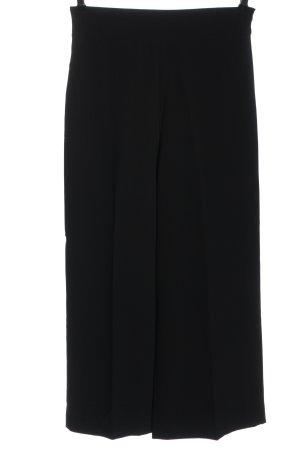 Zara Falda pantalón de pernera ancha negro look casual