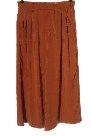 Zara Culottes hellorange Casual-Look