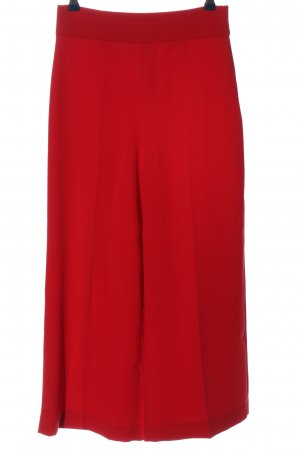 Zara Culottes rot Business-Look