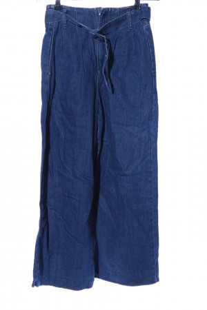 Zara Culottes blauw casual uitstraling