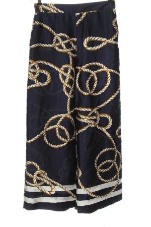 Zara Culottes Allover-Druck Casual-Look