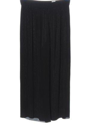 Zara Culotte noir style décontracté