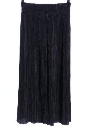 Zara Pantalone culotte nero stile casual