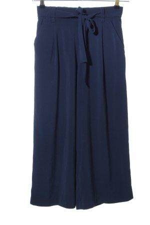 Zara Culottes blau Business-Look