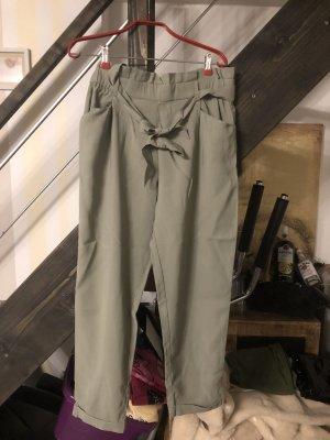 Zara Trafaluc Pantalone culotte cachi-verde oliva
