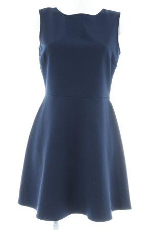 Zara Cut-Out-Kleid dunkelblau Elegant