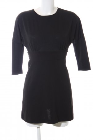 Zara Cut-Out-Kleid schwarz Casual-Look