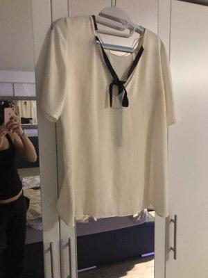 Zara Camicia a maniche corte beige chiaro