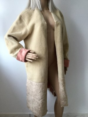 ZARA Damen Fur Mantel Gr.XS/S