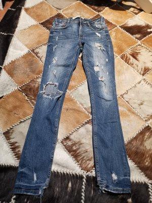 ZARA Damen Jeans,Slim, Gr.32