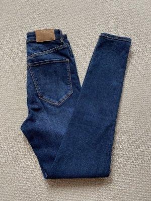 Zara Damen Jeanshose Blau Gr. 34 wie NEU !!