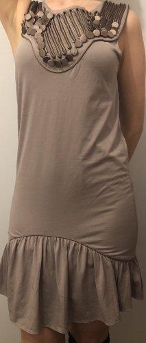 Zara Mini Abito marrone-grigio