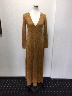 Zara Damen-Kleid / S 36 / Gold / NEU