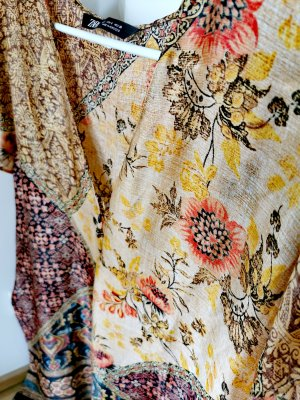 Zara Damen kurzärmelig exotisches Minikleid Gr.36 S