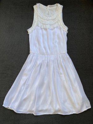 Zara Damen Sommerkleid Weiß Gr. XS